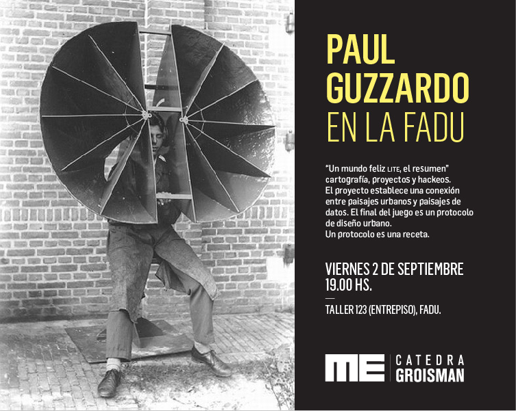 Flyer Paul Guzzardo en FADU-02